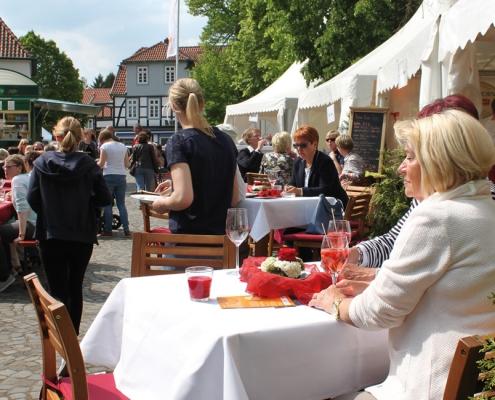 Culinaria, Gäste auf dem Kirchplatz