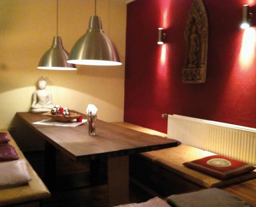 Gästeraum Hong Lan-Restaurant