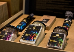 Geschenkebox mit Salzprodukten von King of Salt