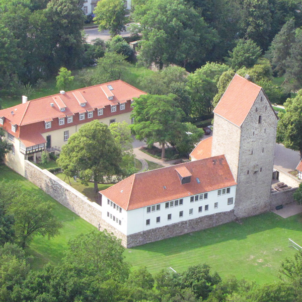 Luftbild Burg Wittlage