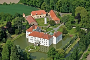 Luftaufnahme Schloss Hünnefeld