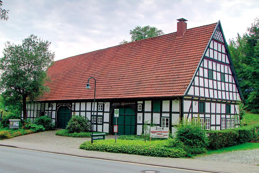 """Aussenansicht des """"Schafstall"""" des Kunst- und Museumskreises Bad Essen"""