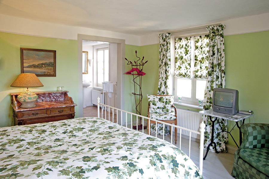 Innenansicht Schlafzimmer Bed & Breakfast Alte Rentei