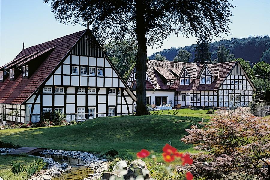 Aussenansicht Landhotel Buchenhof (Garni)