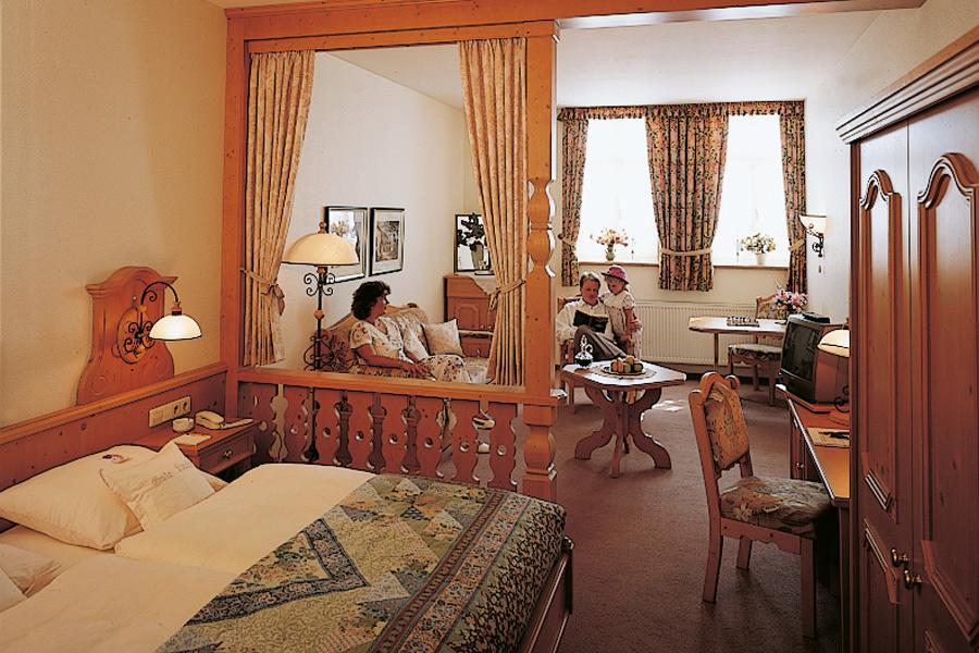 Innenansicht Appartement Landhotel Buchenhof (Garni)