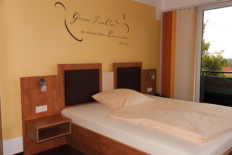 Innenansicht Schlafzimmer Haus Deutsch Krone