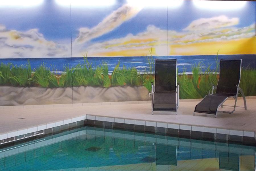 Swimmingpool im Haus Deutsch Krone