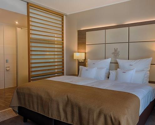 Innenansicht Schlafbereich Högers Hotel & Restaurant