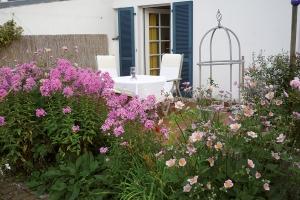 Terrasse Ferienwohnung Landhaus Lay
