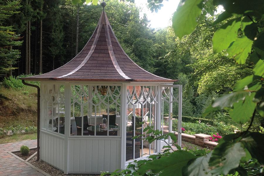 Gartenpavillon Pension Schmidt