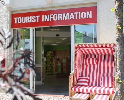 Aussenansicht der Tourist-Information Bad Essen