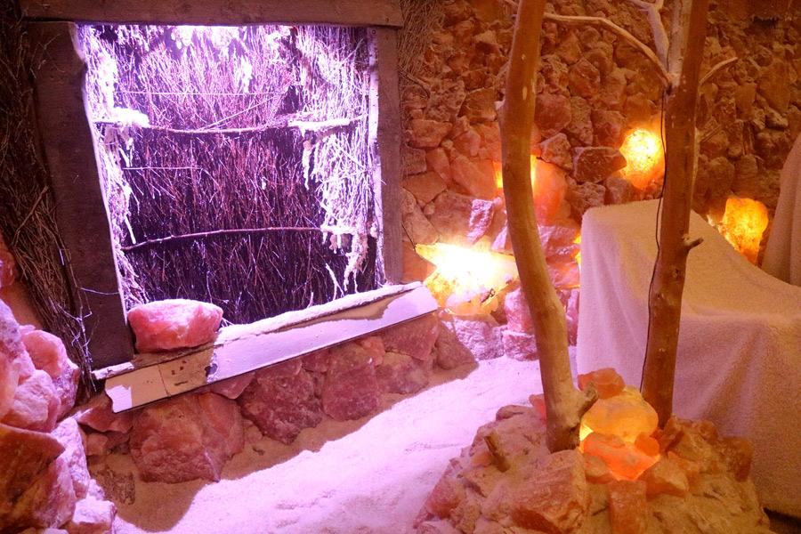 Innenraum der Salzgrotte Bad Essen