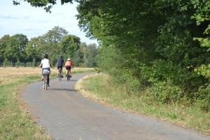 Radfahrer Gute Route
