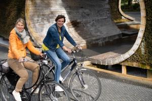 Fahrradfahrerinnen