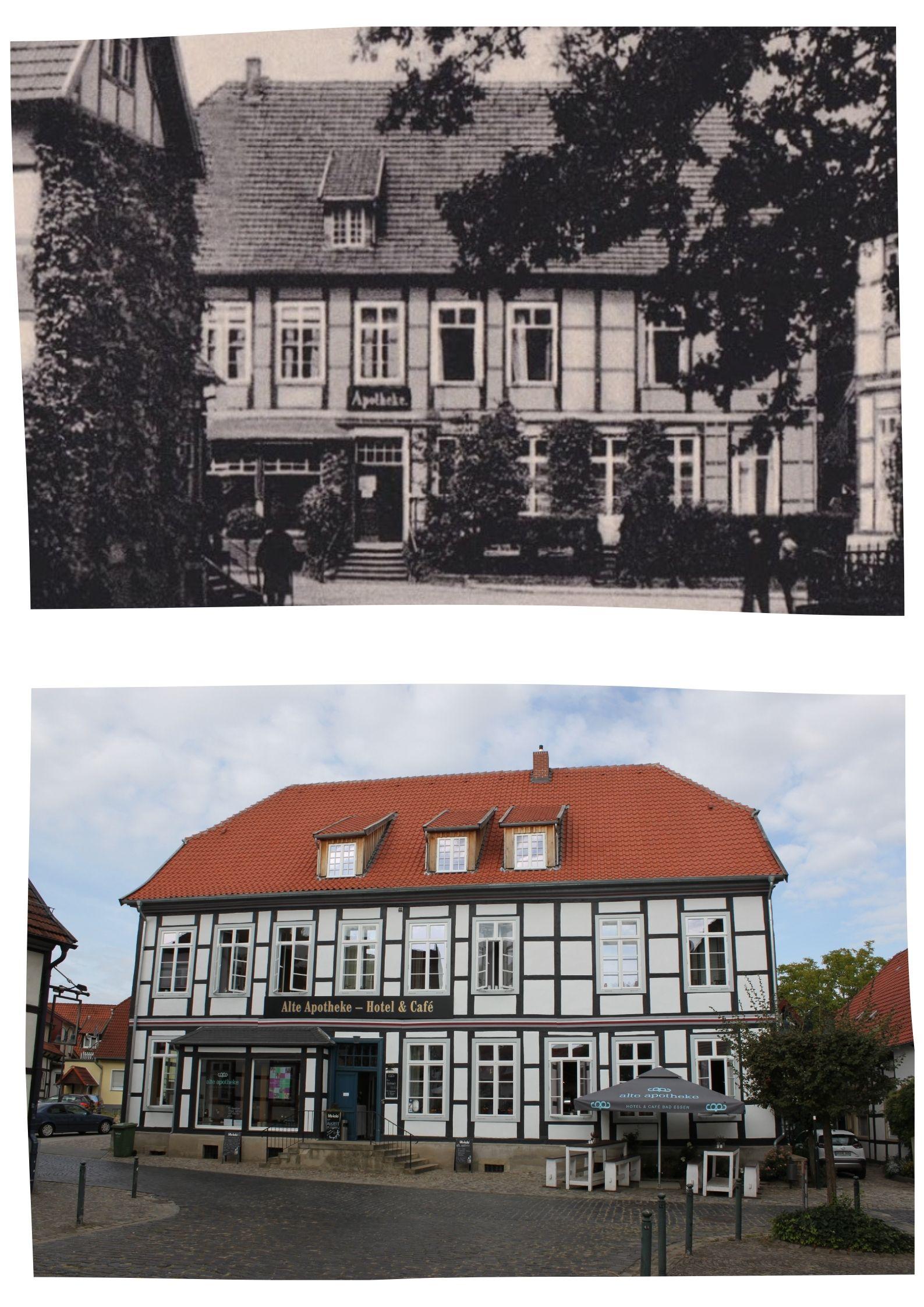 Collage Alte Apotheke Bad Essen