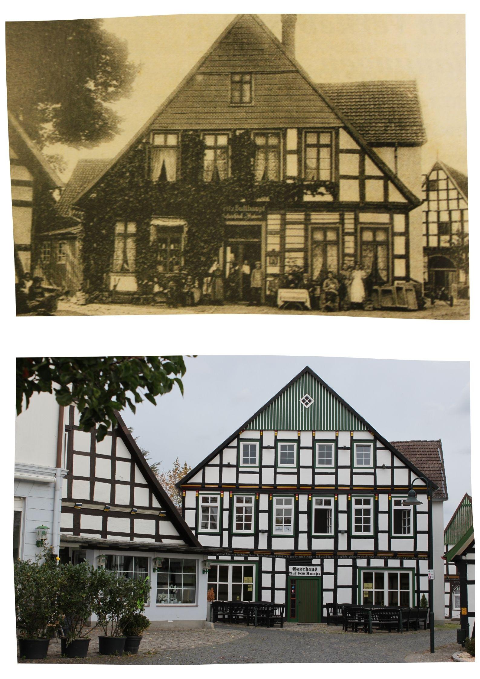 Collage Gasthaus Auf dem Kampe