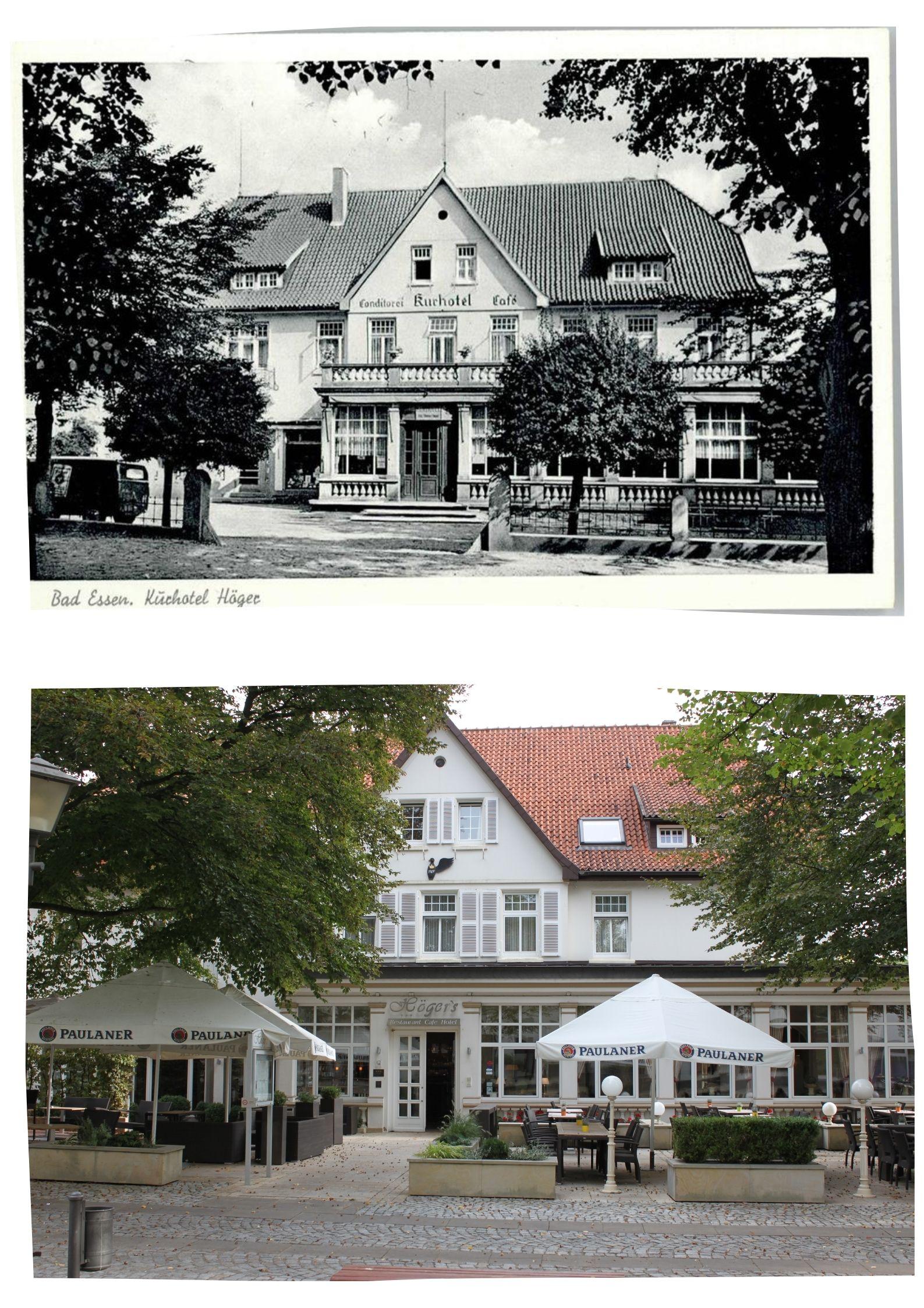 Collage Höger's Hotel