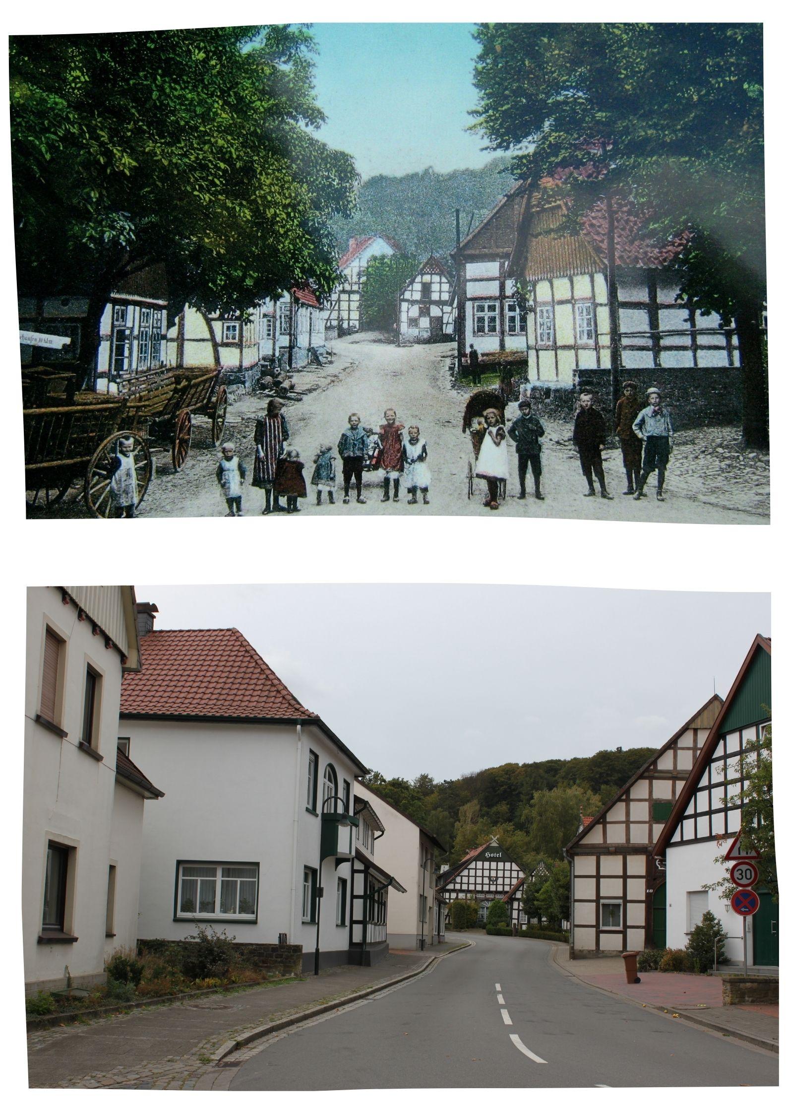 Collage Bergstraße Bad Essen