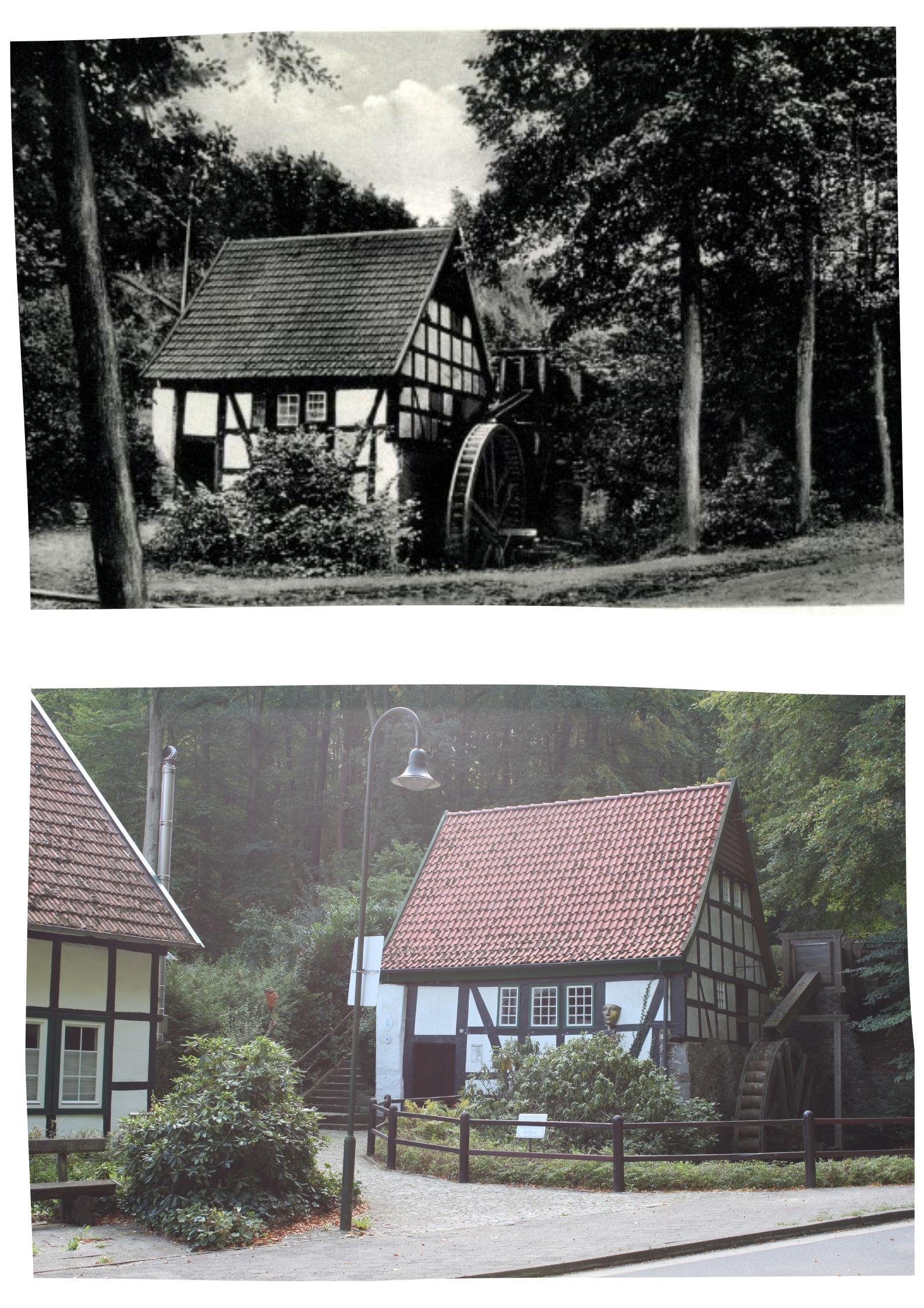 Collage Alte Wassermühle