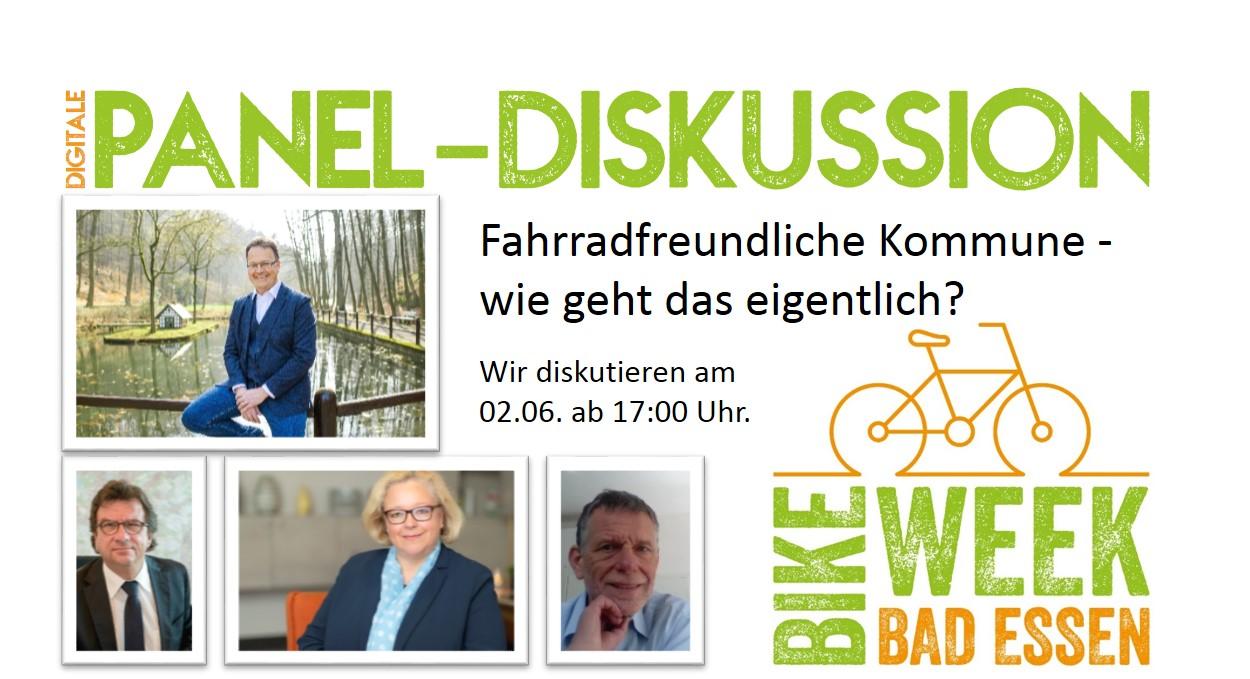 Bad Essen Bike Week Diskussions Panel