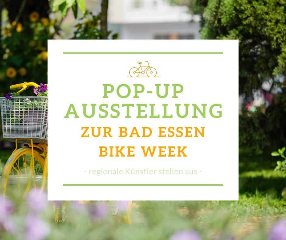 Pop Up Ausstellung Bad Essen Bike Week